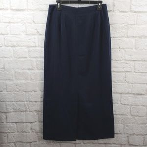 Christopher &Banks Navy Women's Long Skirt